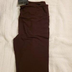 Charlie's Project Pants - Charlie's Project tween solid brown leggings-BNWOT